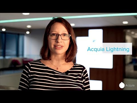 Acquia Lightning Hands-On Demonstration
