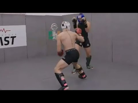Conor McGregor sparring footage ahead of Dustin Poirier fight