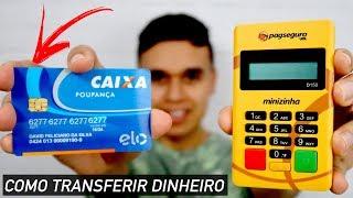 Como sacar dinheiro da Máquina de Cartão do Pagseguro para conta