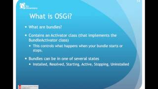 OSGi v  JSPs with Bryce Acer