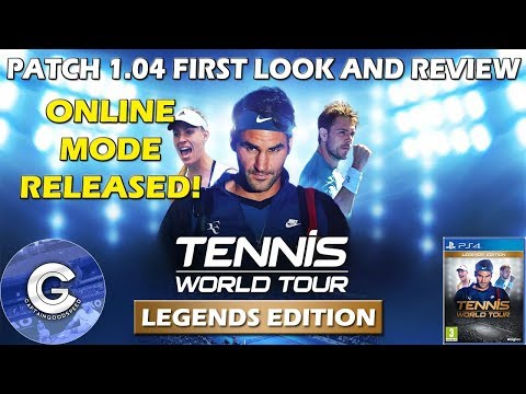BRAND NEW ONLINE MODE | Tennis World Tour Online | First Loo