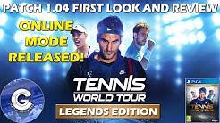 BRAND NEW ONLINE MODE | Tennis World Tour Online | First Look & Review of Tennis World Tour Online