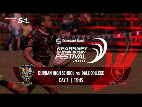 KERF - Durban High School XV vs Dale College XV, 02 April 2018