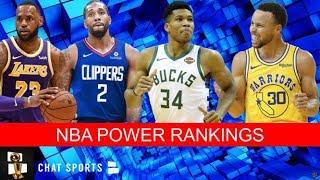 Nba Power Rankings Entering The 2019 20 Nba Season