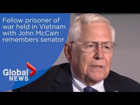 Fellow prisoner of war held with John McCain in Vietnam remembers senator