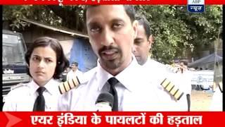 Mumbai: Air India pilots hit the streets