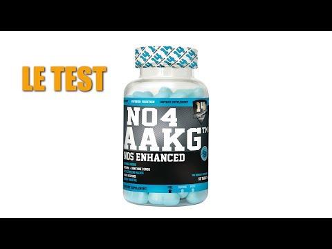 Test complement alimentaire : Booster No No4 AAKG de Superior14