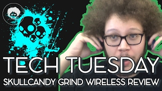 Skullcandy Grind Wireless On-Ear Headphones Review –Tech Tuesday