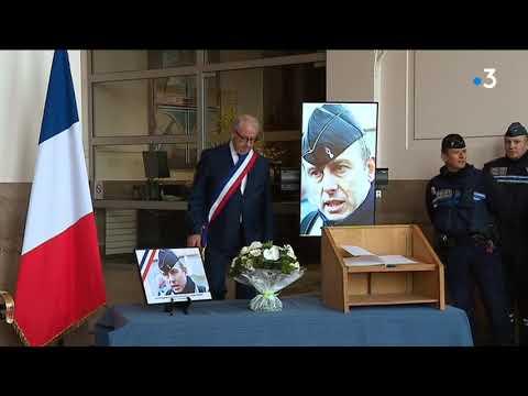 Marcq-en-Baroeul : l'hommage au lieutenant-colonel et héros Arnaud Beltrame