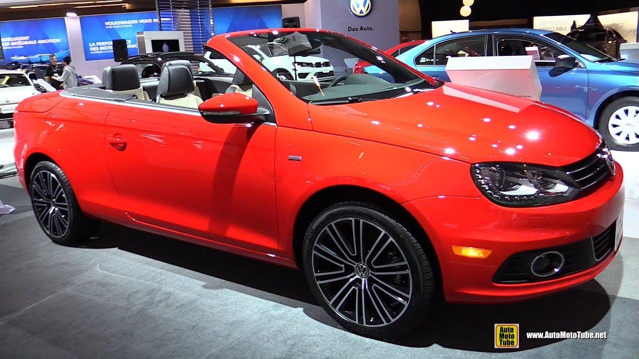 Volkswagen EOS Wolfsburg Edition Exterior And Interior - Eos car show
