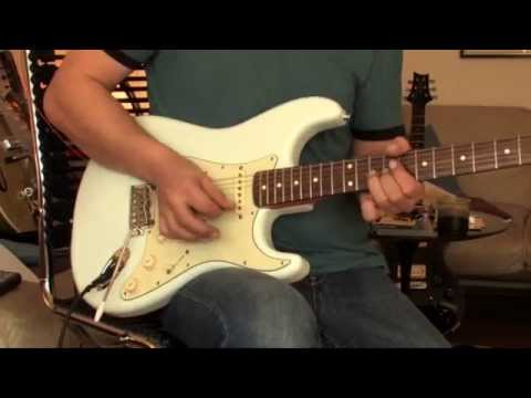 Fender Classic Player Strat Part2 (more overdrive)