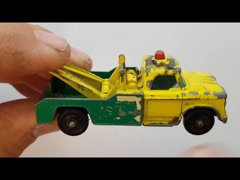 MATCHBOX Restoration No 13d Dodge Wreck Truck 1965