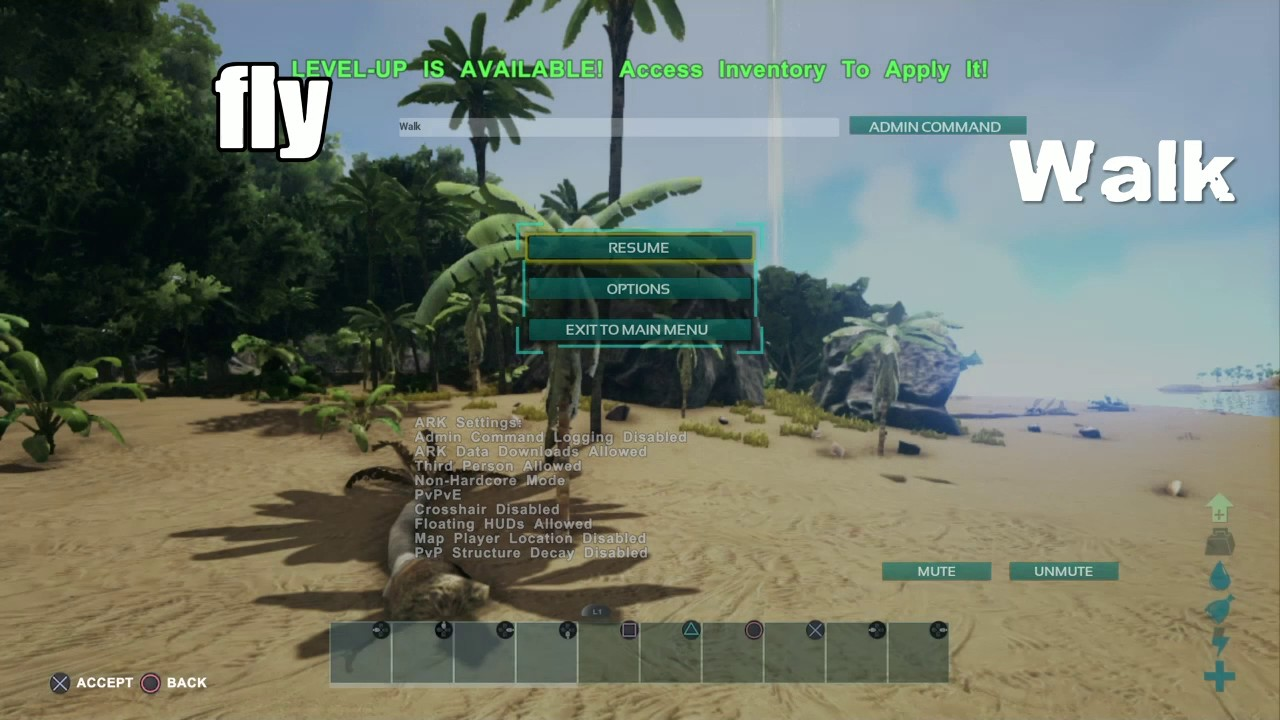 (ARK)new admin cheat codes 2017
