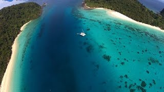 Sailing Cruise from Phuket to Koh Rok Thailand with Drone Footage