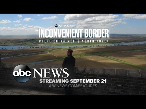 'An Inconvenient Border' clip 2: China's Hidden Bridge to North Korea | ABC News
