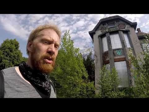 Ghost Town (part.4) WE FOUND A MANSION! - Urban Exploration Belgium