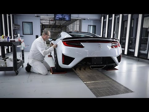Acura Provides All Access Look into the Performance Manufacturing