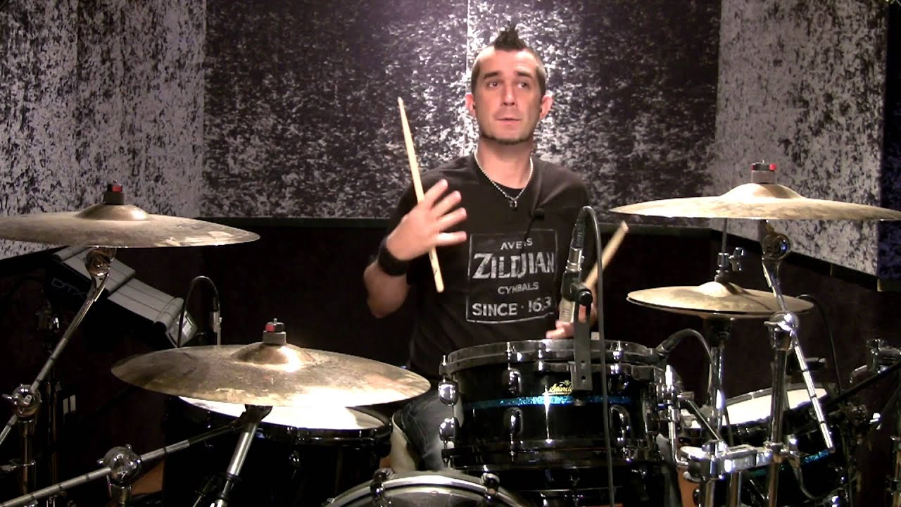Pete Parada of The Offspring: Drum Lesson- Linear Drum Fill - YouTube