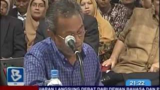 Anwar vs Shabery in historic debate (3 of 8)