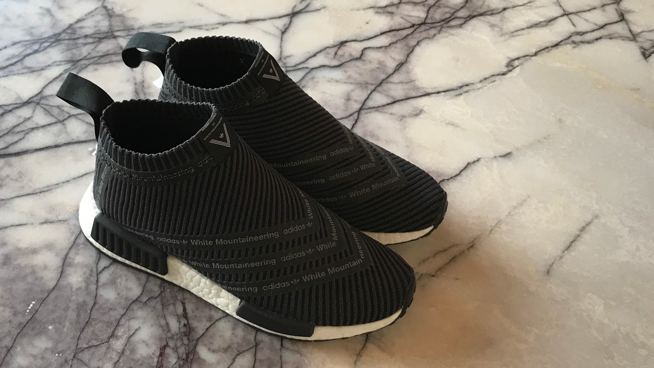 64216e69a Adidas NMD City Sock x White Mountaineering - Review and on feet. The Coon