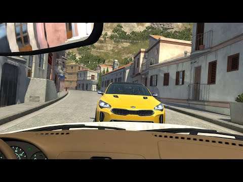 Dash Cam Car Crashes Compilation #21 - BeamNG.Drive