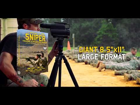 The Official US Army Sniper Training And Operations Manual: Full Size Edition