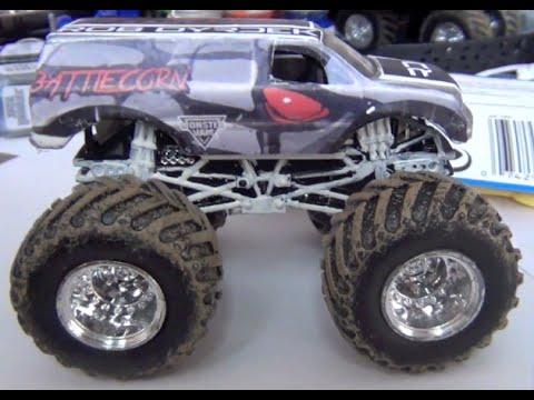 Review monster jam battlecorn best of my custom made hot wheels truck