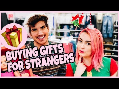 Giving Christmas Gifts to Strangers W/ Joey Graceffa