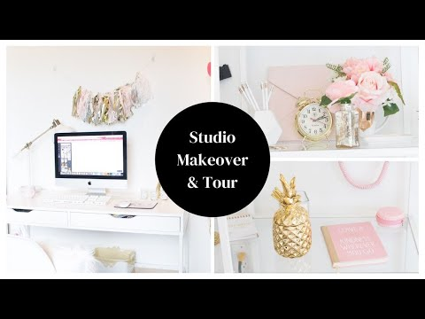 Photo Studio Office Makeover & Tour 2017