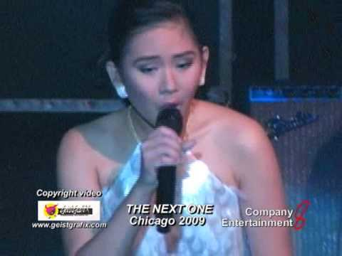 "Sarah Geronimo "" You Changed My Life"" The Next One In Chicago 2009"