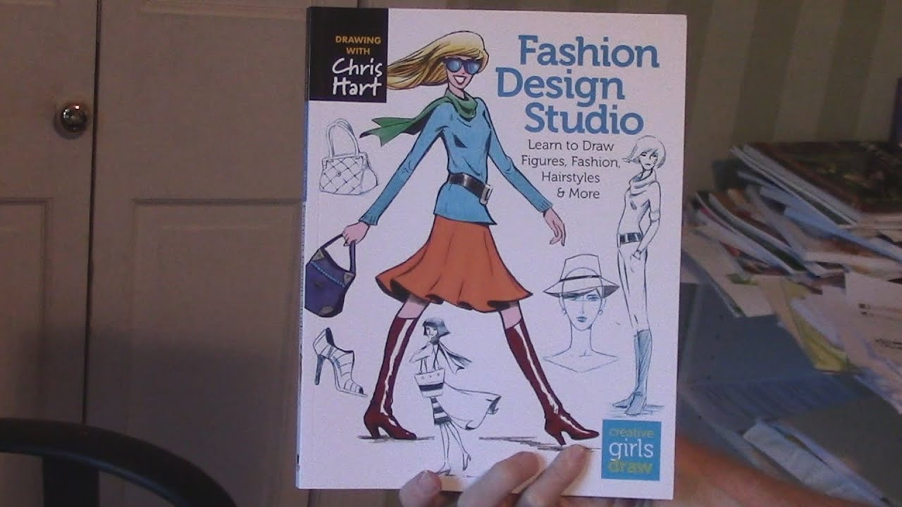 draw fashion book preview youtube