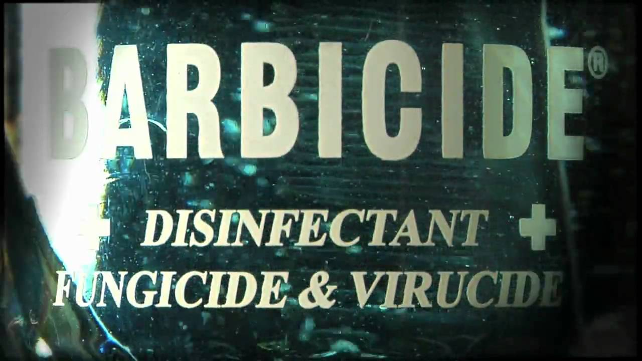 How to Use Barbicide® Bullets Hard Surface Cleaner and Disinfectant
