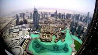 4K Day from Burj Khalifa