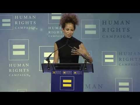 Sherri Saum Receives the HRC Ally For Equality Award