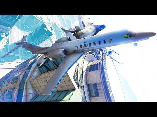 Wir FLIEHEN auf den GTA ONLINE TOWER!
