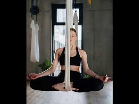 aerial yoga dance  yoga for beginners  yoga exercises