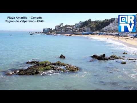 #CONCON Playa Amarilla - Región De #Valparaíso - #Chile