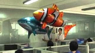 Wholesale Air Swimmers China Manufacturer,Supplier,Factory - RC Flying Fish Shark & Clownfish