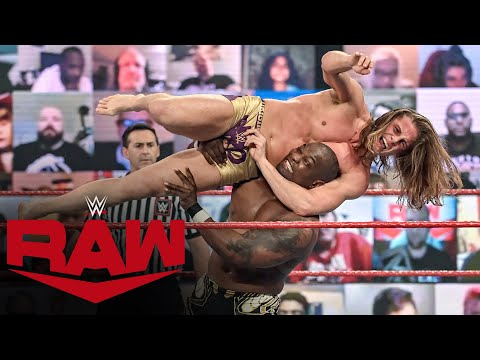 Riddle vs. The Hurt Business – Gauntlet Match: Raw, Jan. 25, 2021