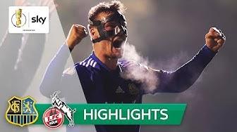 Viertligist sorgt für Sensation! | 1. FC Saarbrücken - 1. FC Köln 3:2 | Highlights - DFB-Pokal