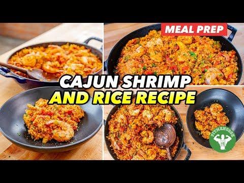 Meal Prep - 20-minute Cajun Shrimp And Rice Recipe