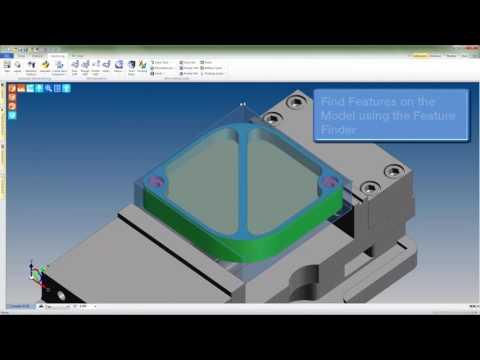 Hybrid CAM Programming with Edgecam