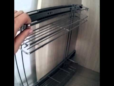 Veitop furniture hardware,kitchen cabinet side pull out metal wire ...