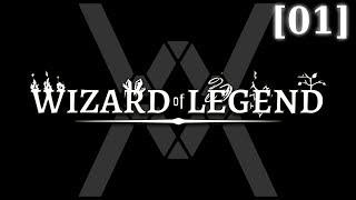 Прохождение Wizard of Legend [01] - Стрим 16/05/18