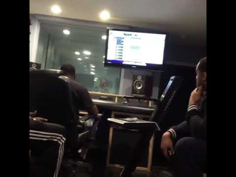 Studio session at music world in Houston tx