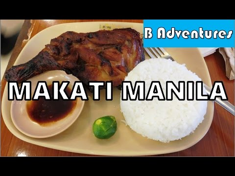 Makati Manila: NAIA Taxi Scams, Chicken BBQ, Duterte, Philippines S2 Ep38