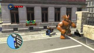 LEGO Marvel Super Heroes The Video Game - Rocket Raccoon free roam