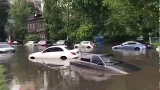 Наводнение и потоп в Нижнем Новгороде 19.6.2018
