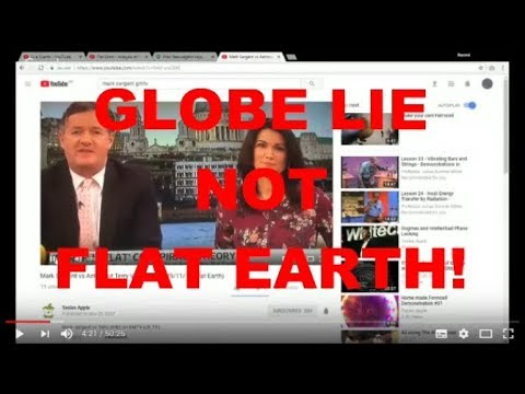 GLOBE LIE NOT FLAT EARTH!  - Del rips into GMTV and Mark Sargent