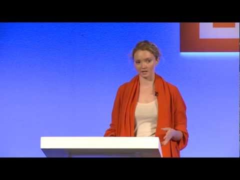 Lily Cole: Technology as a Drive for Social Change  WIRED 2012  WIRED